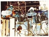 Grateful Dead: Bill Kreutzmann and Mickey Hart: negative image