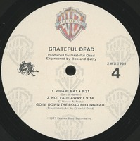 Grateful Dead [Live] [album cover]