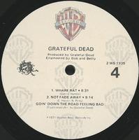 Grateful Dead [Live] [album cover]