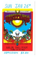 Grateful Dead - Sons of Champlin - Initial Shock - Sunday, January 26th, [1969] - Avalon Ballroom