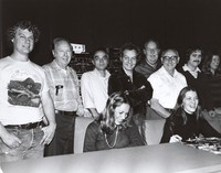 Grateful Dead (movie): unidentified production members at the wrap-up session at the Warner Brothers studios in Burbank