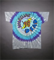 "T-shirt: ""Shoreline Amphitheatre / Grateful Dead"" skull. Back: ""Shoreline Dead '90"""