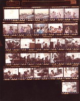 Grateful Dead, ca. 1970s: contact sheet with 26 images