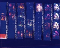 """Grateful Dead: """"Dead Images"""" 1995 #2: contact sheet with 26 images"""
