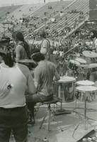 "Grateful Dead: Ron ""Pigpen"" McKernan, Bob Weir, Mickey Hart, Phil Lesh, and Jerry Garcia, from the side"