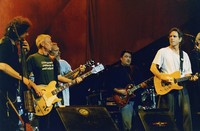 Rob Wasserman, Jack Casady, Jorma Kaukonen, David Hidalgo, and Bob Weir