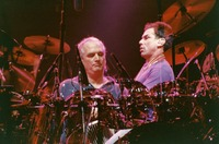 Grateful Dead: Bill Kreutzmann and Mickey Hart: double exposure