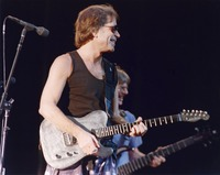 Grateful Dead: Bob Weir with Phil Lesh in the background