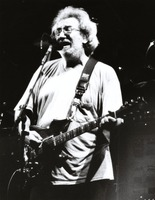 Jerry Garcia at an unidentified venue, ca. 1992