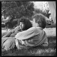 Jerry Garcia and Jerry Slick, of The Great Society