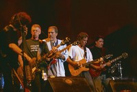 Ratdog, Hot Tuna, and Los Lobos - Furthur Festival 1996: Rob Wasserman, Jack Casady, Jorma Kaukonen, Bob Weir, and David Hidalgo, during Furthur Festival 1996