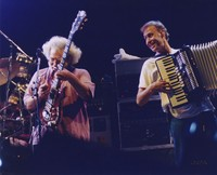 Jerry Garcia and Bruce Hornsby, ca. 1991