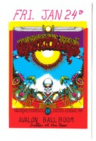Grateful Dead - Sons of Champlin - Initial Shock - Friday, January 24th, [1969] - Avalon Ballroom
