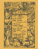 Jerry Garcia, Elvin Bishop, Barry Melton, Tim Davis, Lonnie Turner, Steve Miller, Fred Walk, Dino, Marcus Magnificent, Malone / Benefit Tuesday Jam / Carousel Ballroom, June 4, 1968