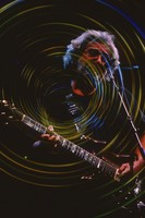 Jerry Garcia: reverse image with special effects