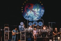Grateful Dead: Phil Lesh, Bill Kreutzman, Bob Weir, Mickey Hart, Jerry Garcia. Rex Foundation benefit