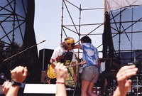 Carlos Santana and band members