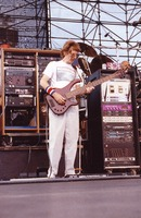 Grateful Dead: Phil Lesh, with Bill Kreutzmann in the background