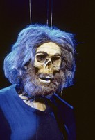 """Touch of Gray"" video: Jerry Garcia skeleton"