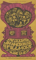 Doors, Jim Kweskin Jug Band, with Dan Bruhns' Fillmore Lights - Bill Graham Presents in San Francisco - June 9-10 [1967] - Fillmore