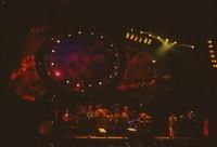 Grateful Dead with Ornette Coleman: Phil Lesh, Bill Kreutzmann, Mickey Hart, Bob Weir, Jerry Garcia, Ornette Coleman, Vince Welnick
