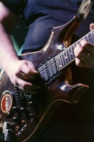 "Jerry Garcia's guitar ""Lightning Bolt"""