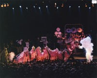 Grateful Dead: Chinese New Year dragon in front of the stage