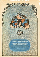 Jerry Garcia Band, also featuring Keith & Donna Godchaux, John Kahn & Ron Tutt. November 13, 1976, HSU East Gym