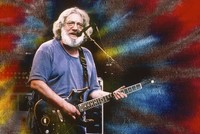 Jerry Garcia, ca. 1993-95: image with special effects