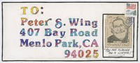 Peter S. Wing [return envelope]