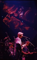 Grateful Dead, ca. 1993: Phil Lesh, with Mickey Hart and Bob Weir in the background