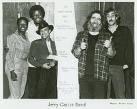 Jerry Garcia Band, ca. 1982