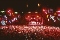 Grateful Dead, ca. 1991: stage lighting