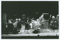 Jerry Garcia Band, ca. 1983: Melvin Seals, Dee Dee Dickerson, Jaclyn LaBranch, David Kemper, John Kahn, Jerry Garcia