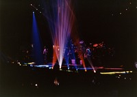 Grateful Dead: distant view of stage