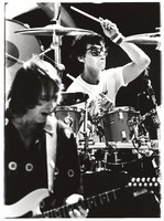 Grateful Dead: Mickey Hart, with Bob Weir in the foreground