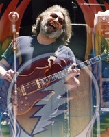 Jerry Garcia: double exposure