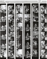 Grateful Dead at the Greek Theatre: contact sheet with 36 images
