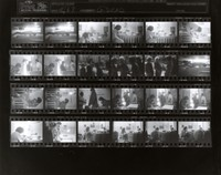 Grateful Dead at 710 Ashbury Street: contact sheet with 24 images