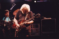 """Grateful Dead: Jerry Garcia and Mickey Hart performing """"Shakedown Street"""""""