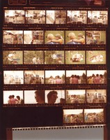 Grateful Dead, ca. 1970s: contact sheet with 27 images