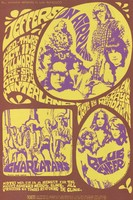 Jefferson Airplane, Charlatans, Blue Cheer - Lights by Glenn McKay's Headlights - Bill Graham Presents in San Francisco - October 11-14 [1967]