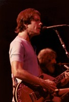 Grateful Dead: Bob Weir, with Jerry Garcia in the background