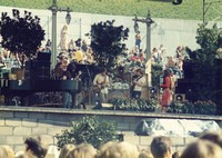 "Grateful Dead at ""A Day on the Green #8"": Bill Kreutzmann, Jerry Garcia, Bob Weir, Mickey Hart, Phil Lesh, Donna Godchaux"