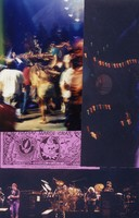 Grateful Dead Mardi Gras: Bob Weir, Bill Kreutzmann, Jerry Garcia, and Mickey Hart obscured