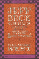 "Jeff Beck Group, Spirit, Linda Tillery ""Sweet Linda Divine"", Sweetwater - Brotherhood of Light - Bill Graham Presents in San Francisco - December 5-8 [1968] - Fillmore West"