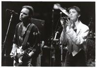 Bob Weir and Suzanne Vega, ca. 1989