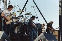 Grateful Dead, ca. 1991: Phil Lesh, Mickey Hart, Bob Weir, Vince Welnick, and Jerry Garcia