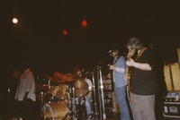 Jerry Garcia Band, ca. 1985: Melvin Seals, Gloria Jones, Jaclyn LaBranch, David Kemper, John Kahn, Jerry Garcia