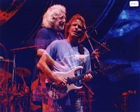 Grateful Dead: Jerry Garcia and Bob Weir: double exposure